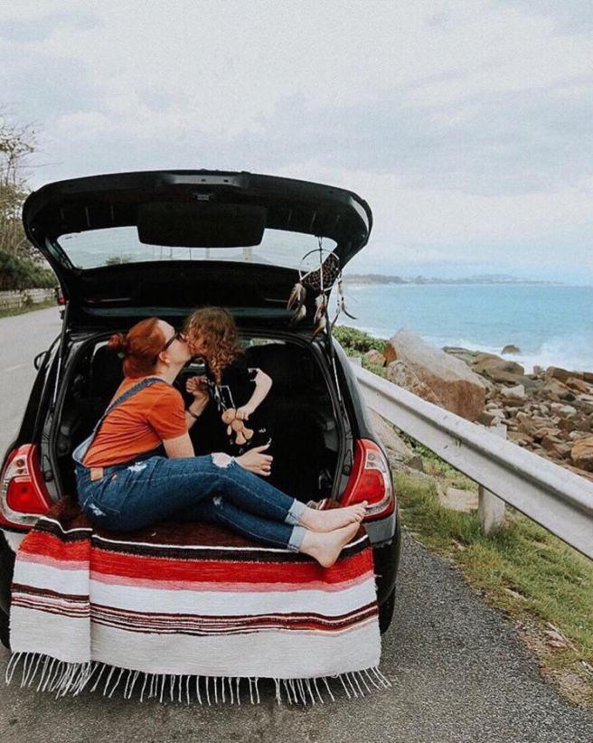 picnic no carro